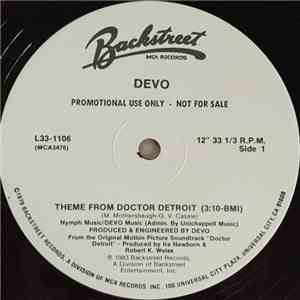 Devo - Theme From Doctor Detroit download